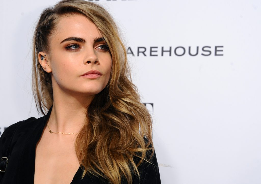 LONDON, ENGLAND - FEBRUARY 18: Cara Delevingne attends the Elle Style Awards 2014 at one Embankment on February 18, 2014 in London, England. (Photo by Anthony Harvey/Getty Images)