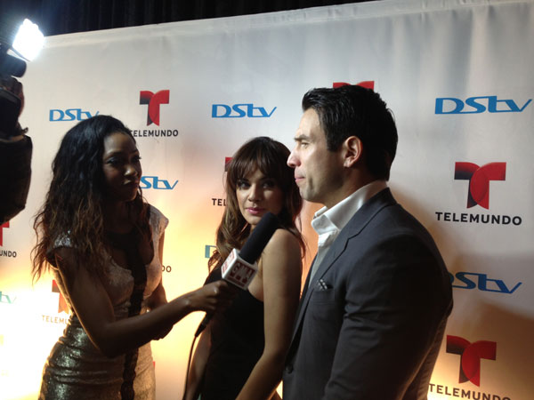 Weza Solange interviewing Rafal and Angelica