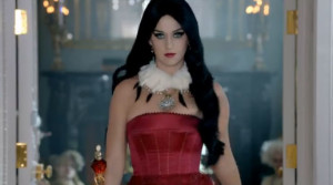 Katy Perry looking fierce in her new perfume ad for Killer Queen.