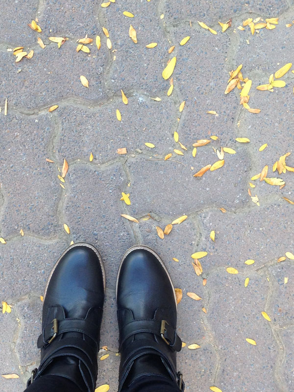 Autumn doesn't look to bad with these new boots.