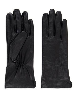 Leather gloves for R199.95 is a good winter investment. Available in black and tan at Woolworths.