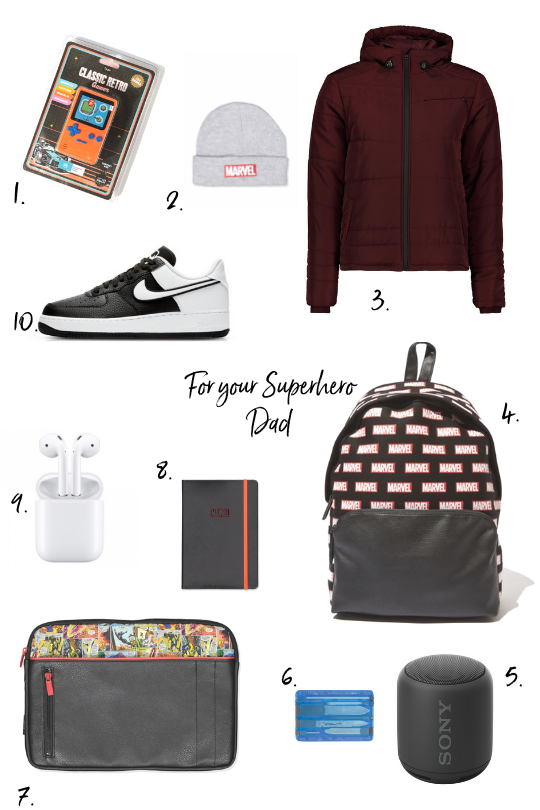 Last minute Father's Day Gift Guide by Nikita Camacho Hearts in Her Shoes