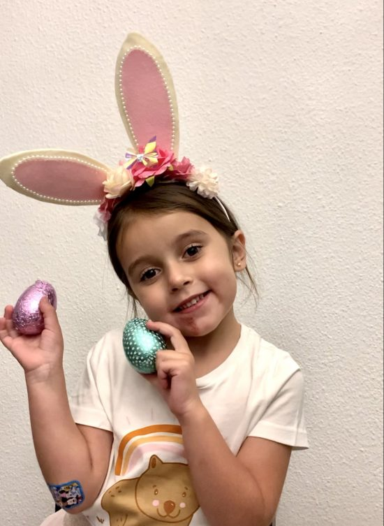 Easter Bunny Headband Hearts in Her Shoes Mommy and Lifestyle blogger
